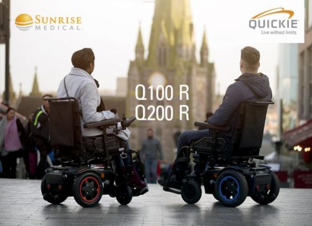 Silla de ruedas QUICKIE Q100R