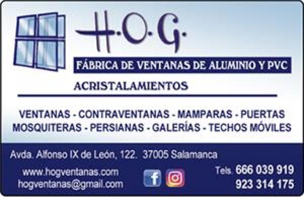 H.O.G VENTANAS CARPINTERÍA DE PVC Y ALUMINIO. ACRISTALAMIENTOS
